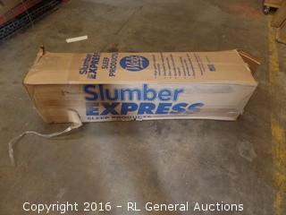 Slumber Express Sleep Products Package Damaged New in Box