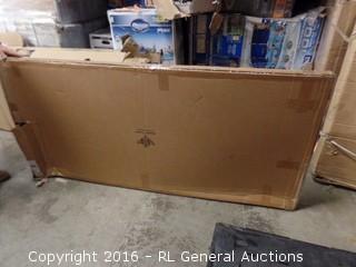 Jennifer Taylor Sandy Headboard, King (Package Damaged,New In Box)