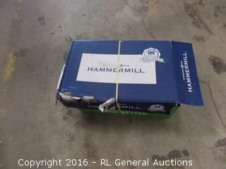 Hammermill copy Paper Packaged damaged new in box
