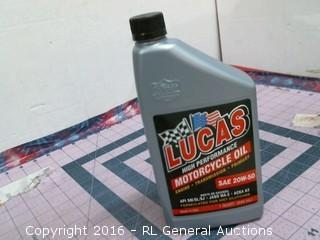 Lucas Motorcycle Oil