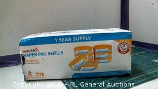 Diaper Pail Refills