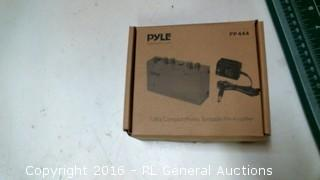 Pyle Ultra Compact Phono Turntable Pre Amplifier