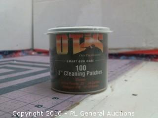 Gun Care cleaning patches