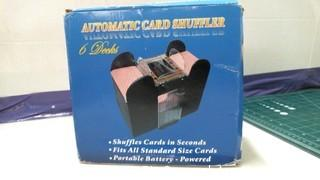 Aurtomatic Card shuffler