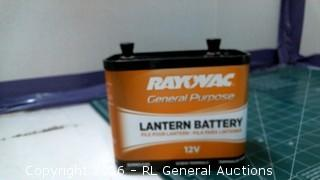 Ray Vac Lantern Battery