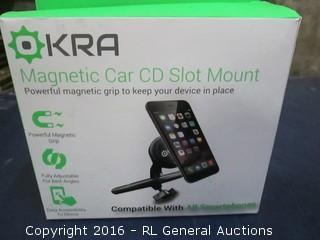 Magnetic Car CD Slot mount