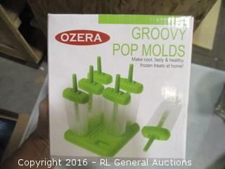 Groovy Pop Molds