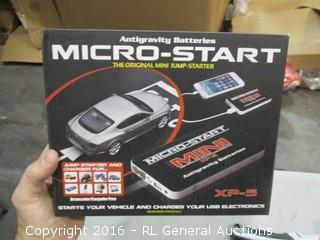 Micro Start Jump Starter