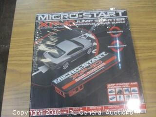 Micro Start Jump Starter and Charger
