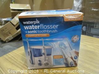 waterpik waterflosser + sonic toothbrush