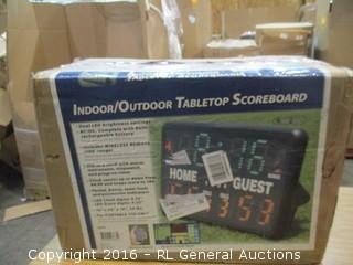 Indoor/Outdoor Tabletop Scoreboard
