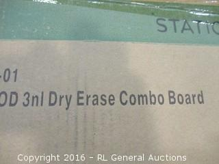 Dry Erase Combo Board