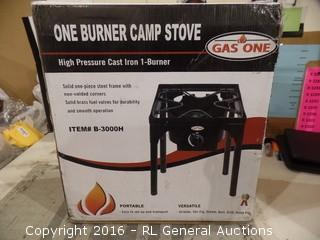 Gas One One burner camp stove