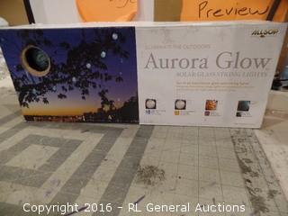 Aurora Glow Solar String Lights
