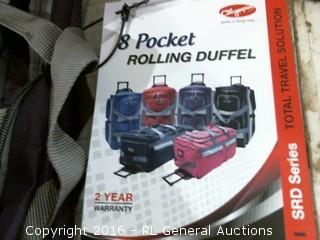 Pocket Rolling Duffel