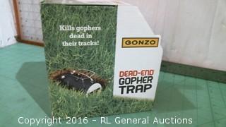 Dead in Gopher Trap
