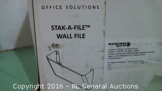 Stak a File Wall File