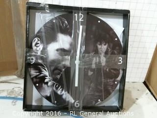Elvis Presley Clock