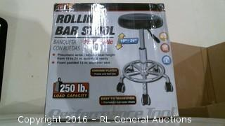 Rolling Bar Stool