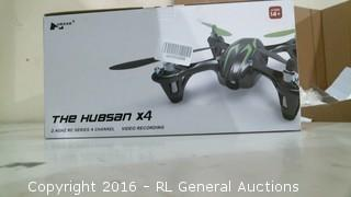 The Hubson X4 RC Quadcopter