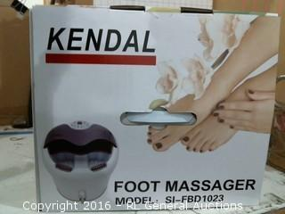 Kendal Foot massage