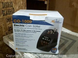 Electric Coin Sorter