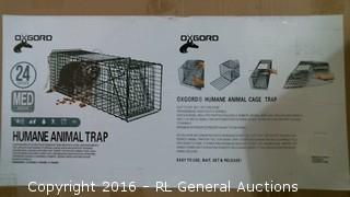 Humane Animal Trap