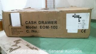 Cash drawer w/keys.