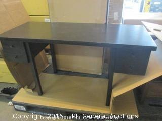 Black Writing Desk In box
