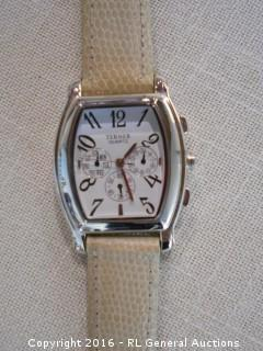 BiJoux Terner Watch w/ Leather Band