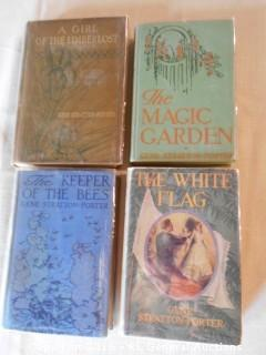 Antique Books 1909-1927 Gene Stratton Porter w/ Plastic Dust Jackets