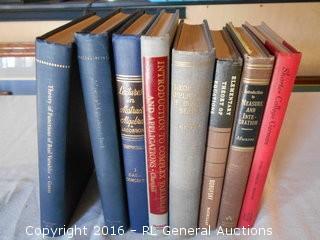 1948-1956 Advanced Math Books (7) & Shorter College German