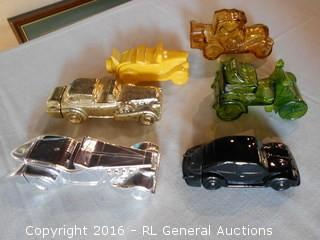 Vintage Avon Collectors Bottles - Cars Collection - Empty