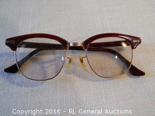 Vintage 12K Gold Filled Reading Glasses - Shuron