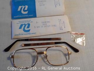 New Old Stock Glasses Frames Martin-Copeland - Never Assembled