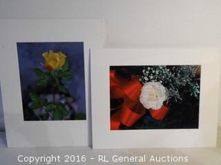 "Alvin Koski Matted Photos - 1 Signed  20"" X 16"""