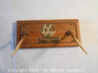 Golf Desk Pen Set