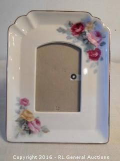 "Ceramic Picture Frame 6.75"" W X 8.75"" T"