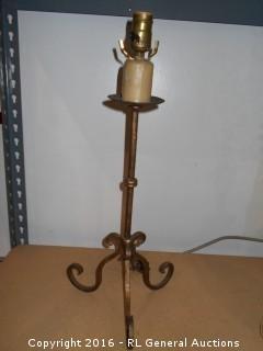 """Lamp No Shade 23"""" Tall"""