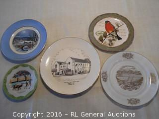 Vintage Decorative Plates Lot