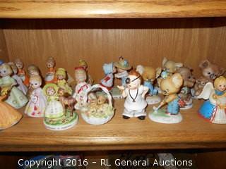 Vintage George Corporation Japan Figurines Lot of 20