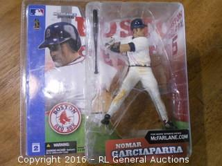 "2002 McFarlane's Sportspicks ""Nomar Garciaparra"" New In Pack 6"" Tall"