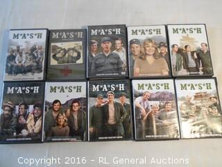 Huge MASH DVD Seasons Box Sets - Seasons 1,3,4,5,6,7,8,9,10,11