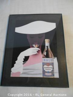 "Liquor Artwork Print 11"" W X 14"" T"