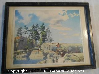 """The Prospector"" by W.J. Phillips , R.C.A. - Print 11.5"" W X 9"" T"