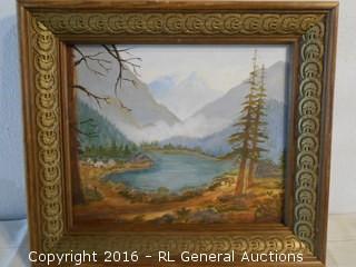 """1967 Original Signed Artwork 15"""" W X 13"""" T"""
