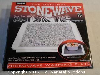 New Emson Stoneware Microwaveable Hotplate