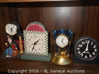 Clock Lot - As Is
