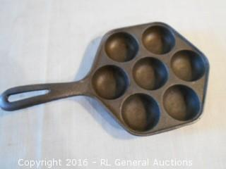 Cast Iron Egg Skillet