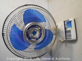 "14"" Super Deluxe Electric Fan - Tested Works"